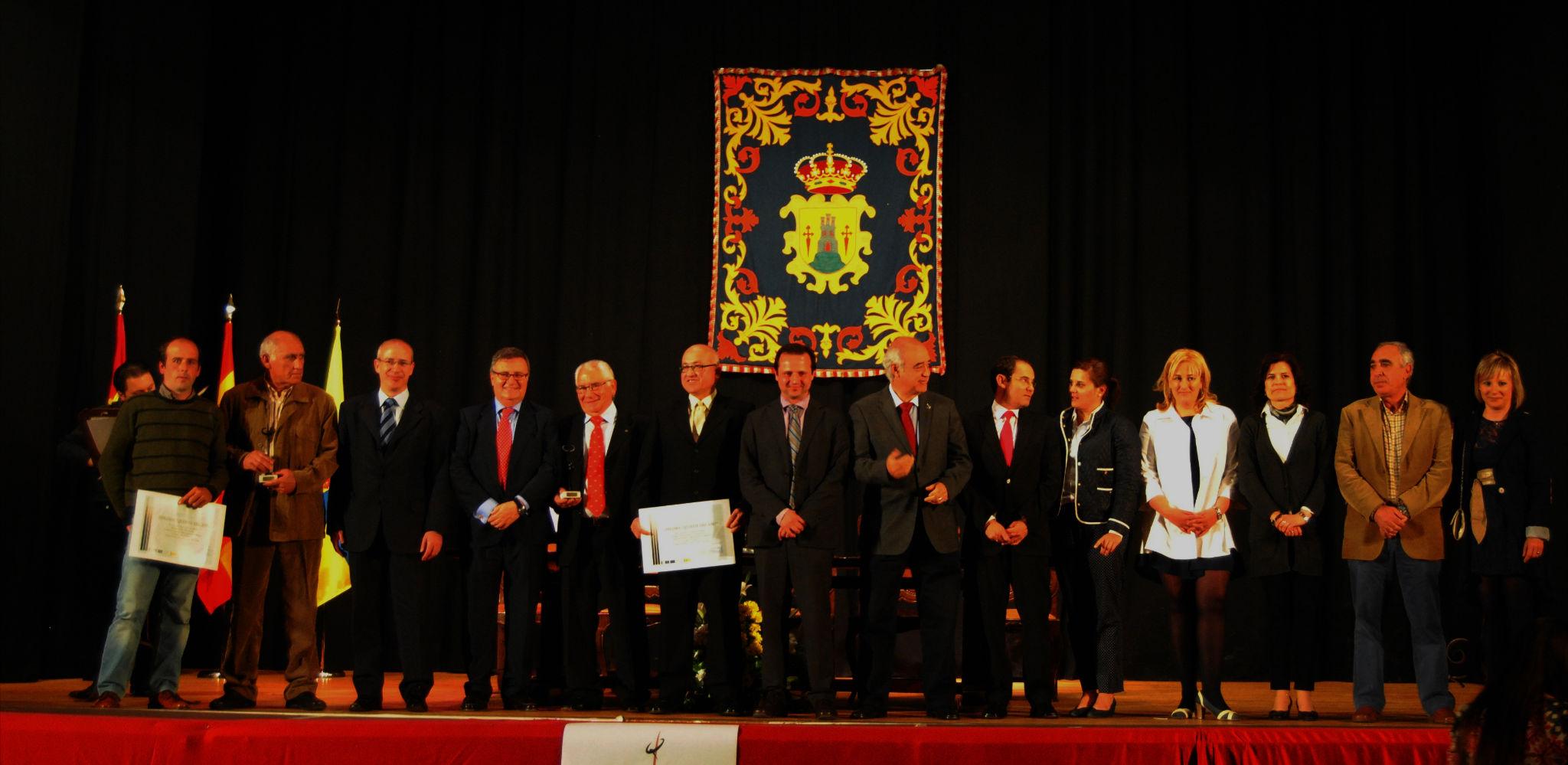 Entrega de los Reconocimientos a Quijote del Año 2012