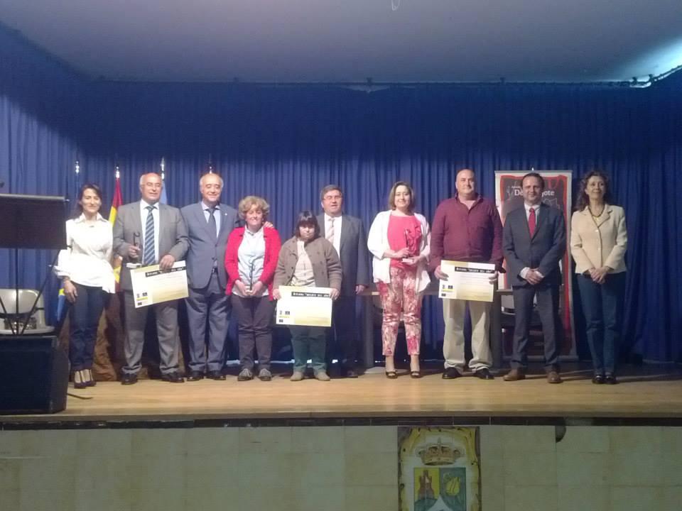 Entre los galardonados para el Quijote del Año 2015, la Asociación AMAFI